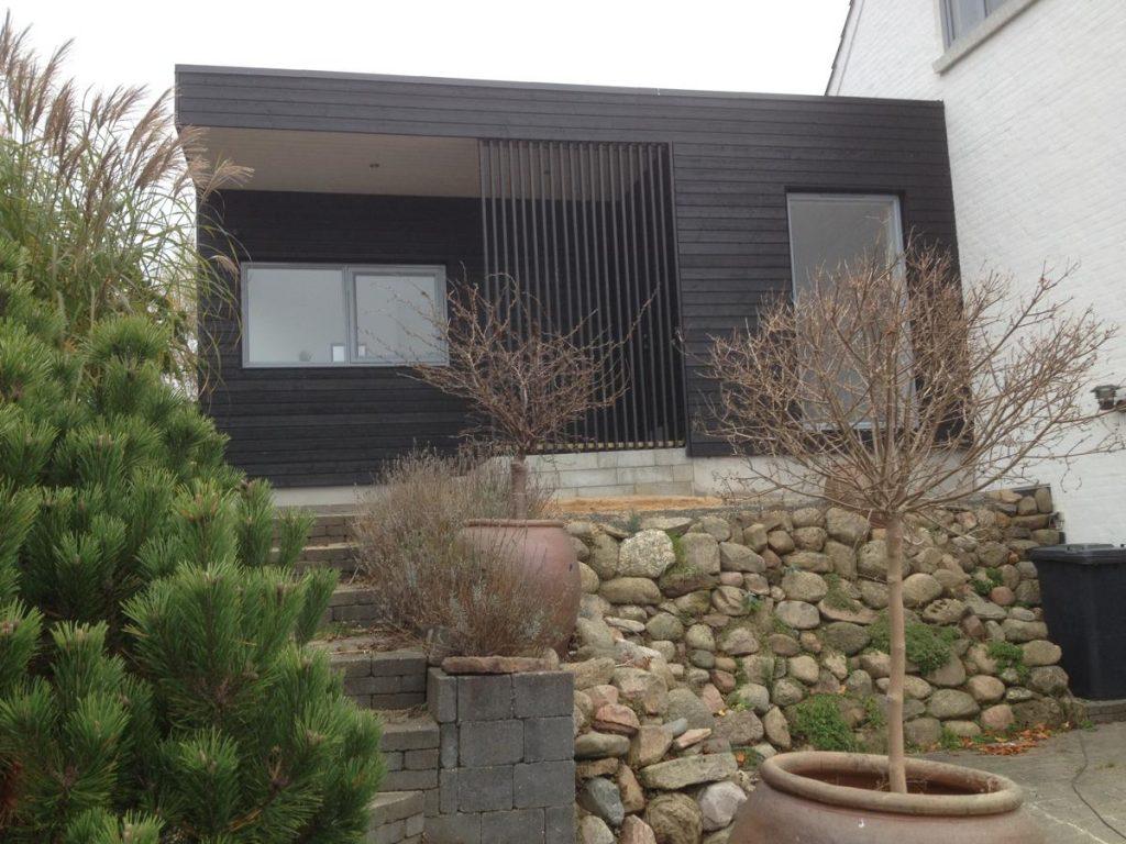 Silkeborg. Ny tilbygning samt renovering af eks. hus